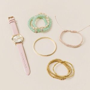 Francesca's Collections Accessories - Believe Watch and Bracelet Set